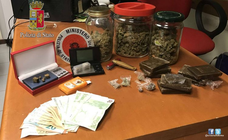 Fiumicino: arrestato un pusher
