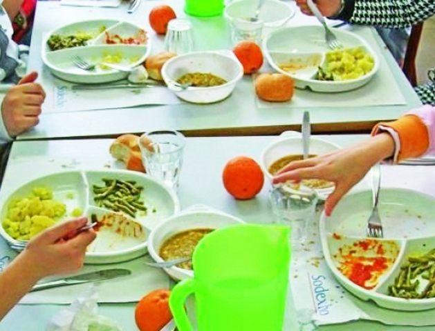 Nuovo menù nelle mense scolastiche