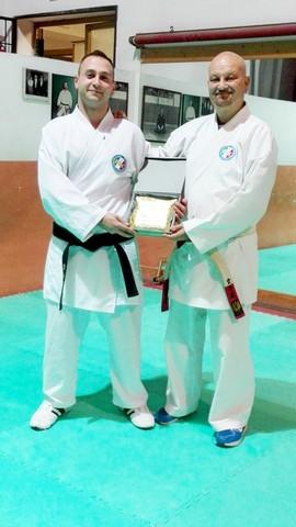 Pierini eletto atleta dell'anno del karate civitavecchiese