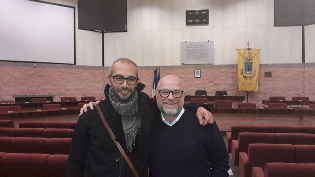Il sindaco di Livorno Nogarin fa visita a Cozzolino