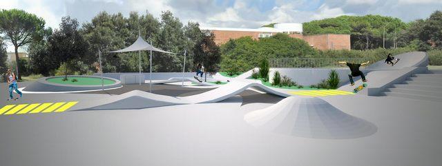 Skate Park: consegnato il progetto definitivo