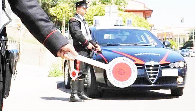 Controlli in città, giro di vite dei carabinieri