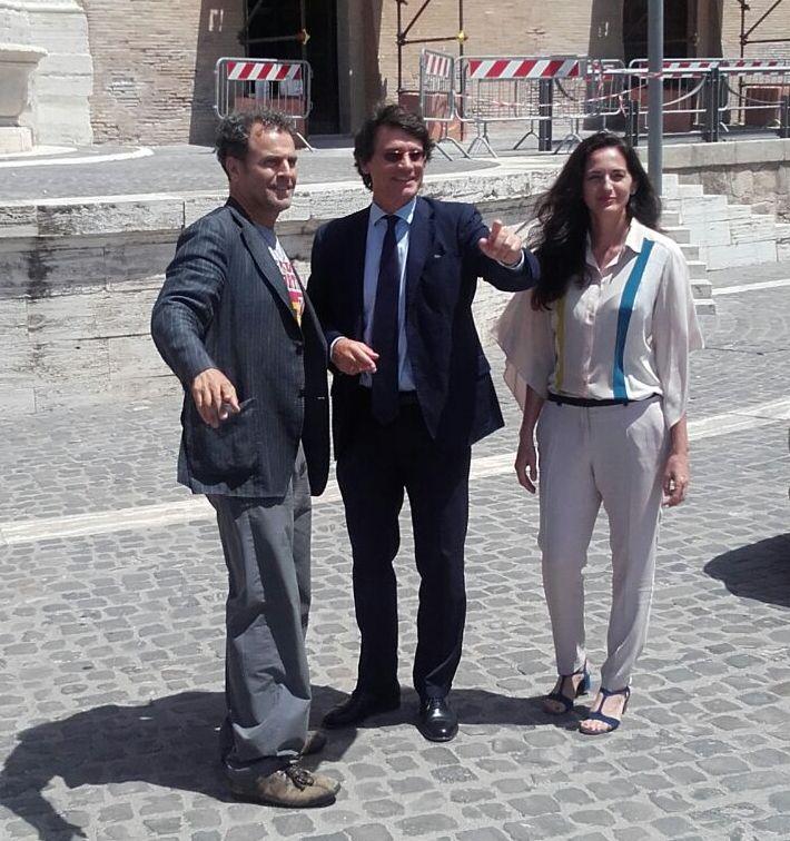 Un evento spettacolo per ricordare Traiano. Quartullo entusiasta di tornare a Civitavecchia