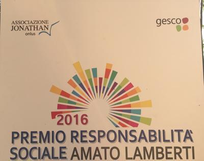 Premio ''Amato Lamberti'', vincono legalità e impegno civile