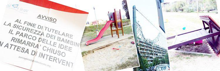 Fiumicino, il Parco delle Idee… che non ci sono