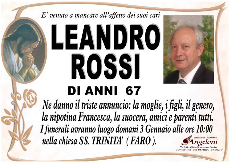 LEANDRO ROSSI