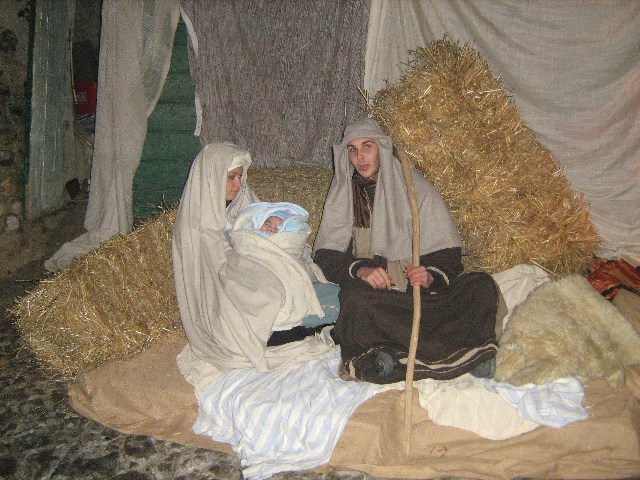 L'Asda ha rinnovato la tradizione del cammino della nascita di Gesù