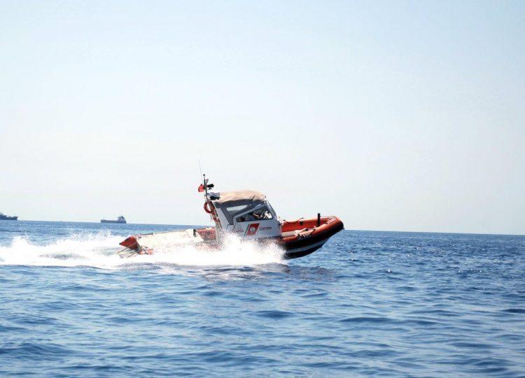Entra in azione il nuovo battello classe Alfa della Capitaneria di porto