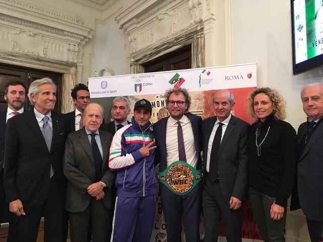 Presentato il Mondiale per la Pace WBC