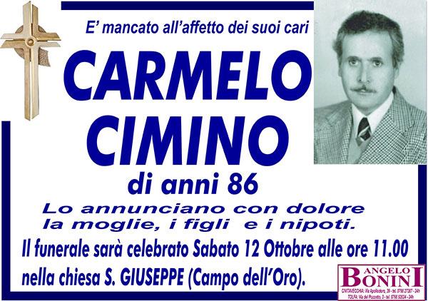 CARMELO CIMINO di anni 86