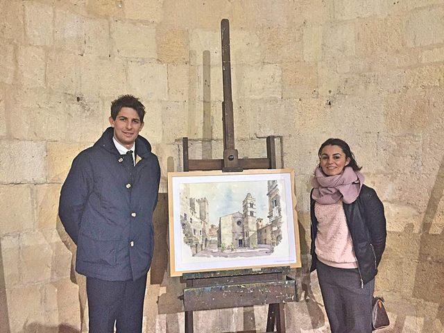 Tarquinia, si è chiusa con successo la mostra di acquerelli di Paolo Lattanzi