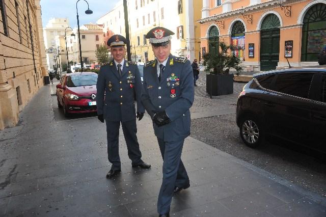 Il generale Buratti fa visita al Roan