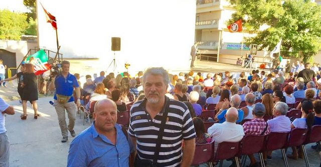 Migranti, anche Olmi e Perinu alla manifestazione contro eventuali sbarchi di profughi nel porto di Civitavecchia