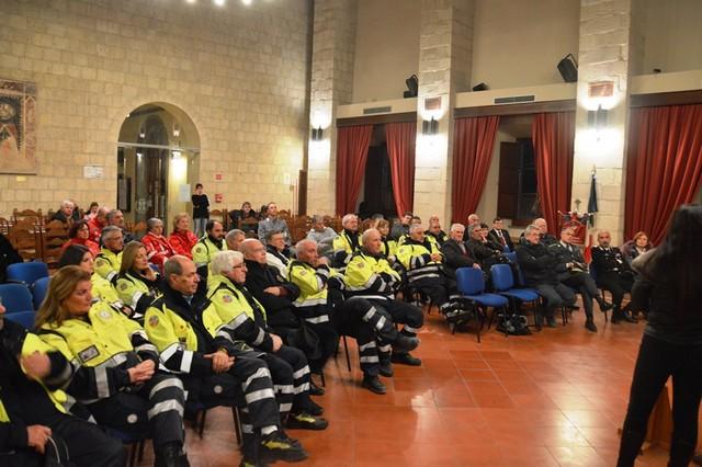 Tarquinia, festeggiati i 25 anni del gruppo comunale della Protezione civile