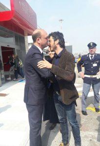 """Del Grande in Italia: """"Sto bene. Io vittima di violenza istituzionale"""""""