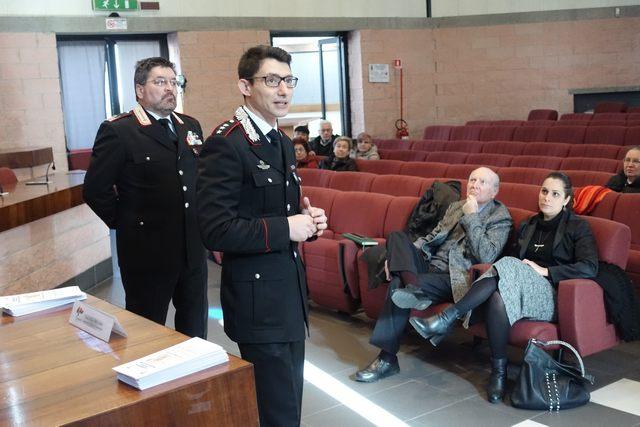 Incontri per prevenire truffe e furti: carabinieri domani a San Gordiano