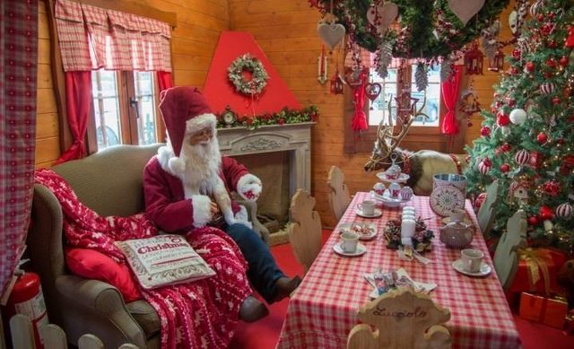 La ''Filastrocca'' al lavoro per l'organizzazione del ''Villaggio di Babbo Natale''