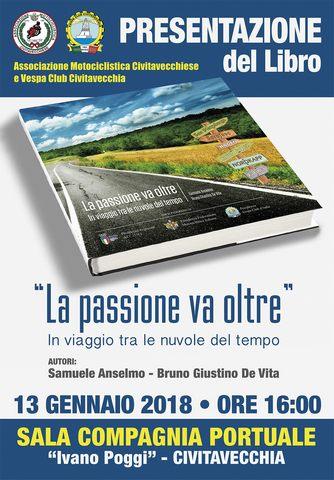 """L'associazione Motociclistica e il Vespa Club presentano """"La passione va oltre"""""""