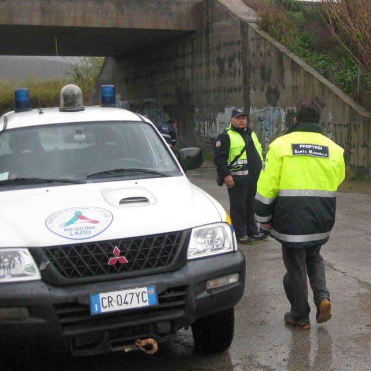 Maltempo: il Comune di S. Marinella pronto all'emergenza con la Pro Pyrgi