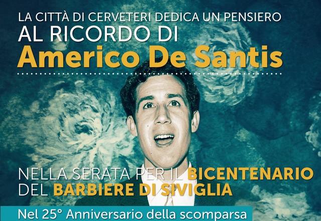 Omaggio al baritono Americo De Santis