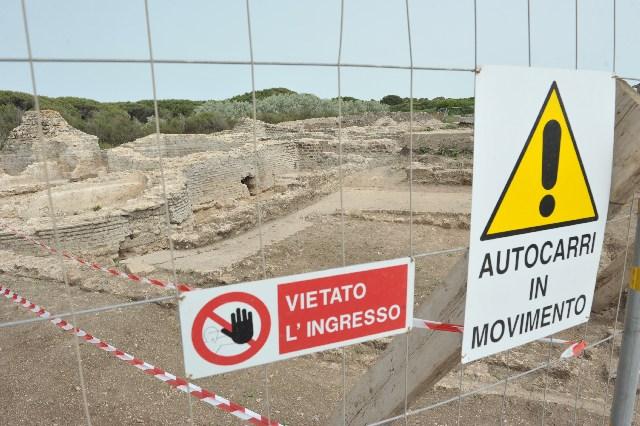 Parco archeologico alla Frasca: tutto fermo