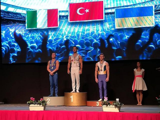 Marco Lodadio argento alla World Challenge Cup