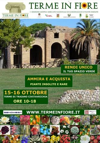 Civitavecchia, la Pro Loco presenta: Terme in Fiore