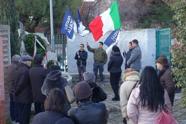 La città ricorda i martiri delle foibe