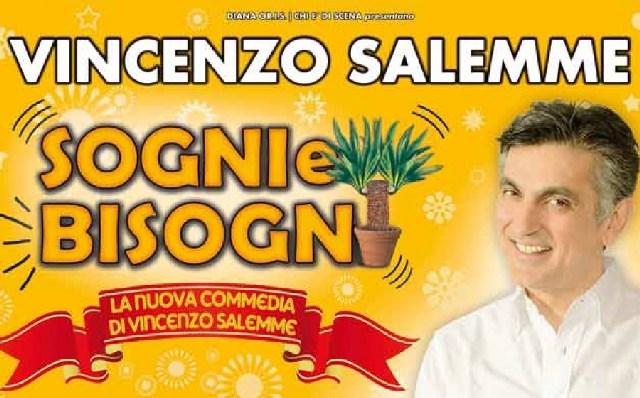 """""""Sogni e bisogni"""" al Traiano torna  Salemme"""
