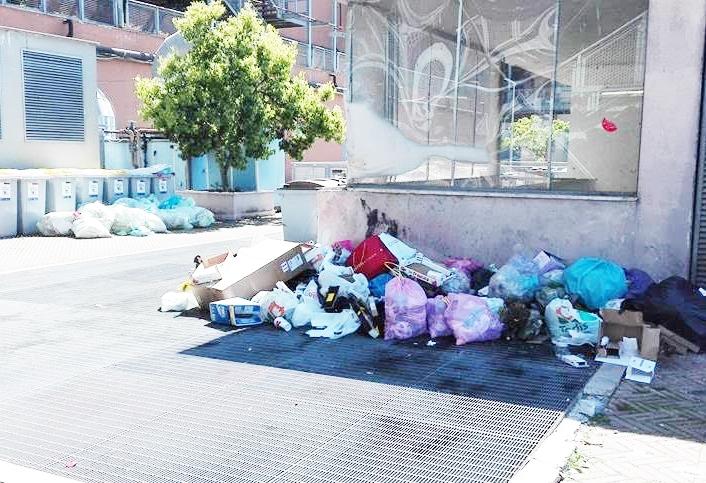 Parco Leonardo ''invaso'' da mini discariche