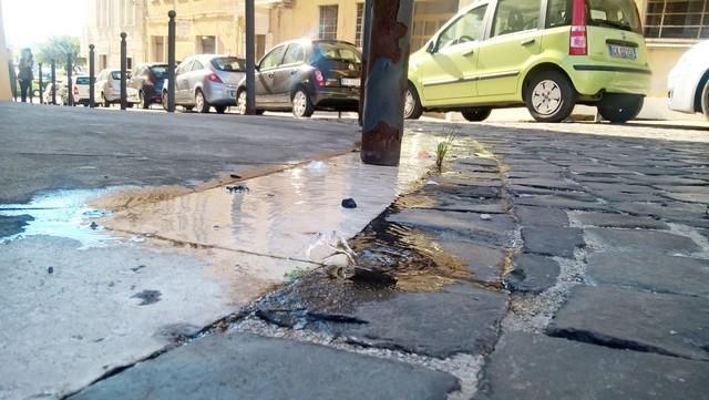 Civitavecchia, Idrico: perdita in via Guglielmotti