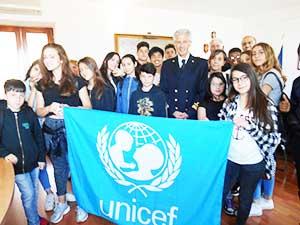 Unicef, il comitato locale saluta l'Ammiraglio Tarzia