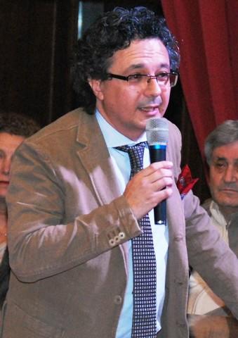 Massimo Onofri a Tarquinia per presentare il libro ''passaggio in Sicilia''