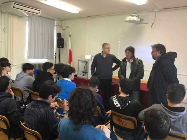Anche al Marconi il Kit 3D della Regione Lazio