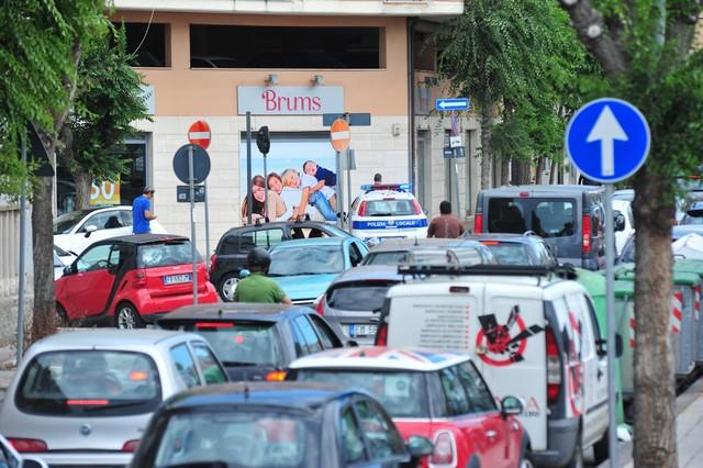 Viale Garibaldi chiuso: Civitavecchia in tilt