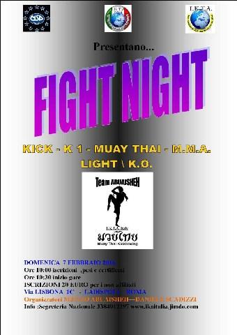 A Ladispoli è tempo di Fight Night