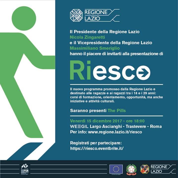 ''Riesco'', 600 euro al mese per i giovani tra i 18 e i 29 anni