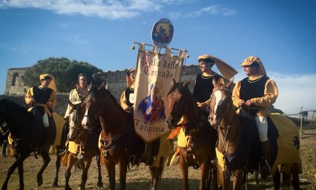 Tarquinia, si aggiudica il Palio la Contrada di Santa Maria in Castello