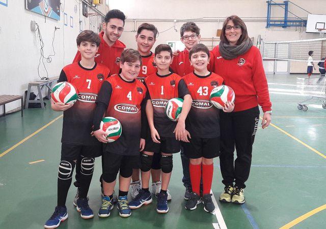 Cv Volley, en plein delle giovanili