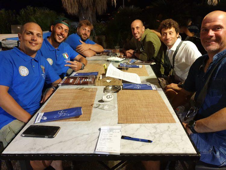 Braccini, Corsetti e Feligioni primi agli Italiani di pesca in apnea