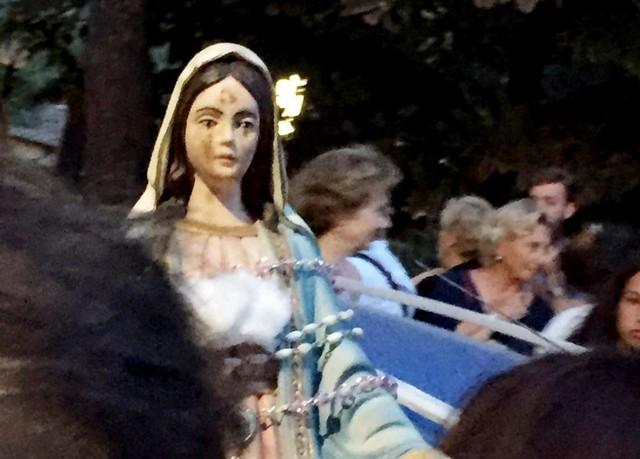 Trevignano, la madonnina richiama tanti fedeli