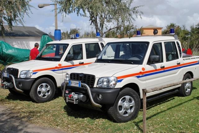 Maltempo, a Tarquinia monitoraggio costante della Prociv Aeopc