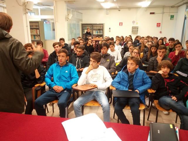 Al Liceo Scientifico sportivo una ''lectio magistralis''