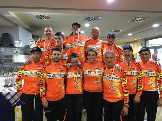 Trionfo Team Bike Civitavecchia al Roma Master Cross