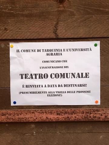 Teatro San Marco: ecco l'eterno incompiuto