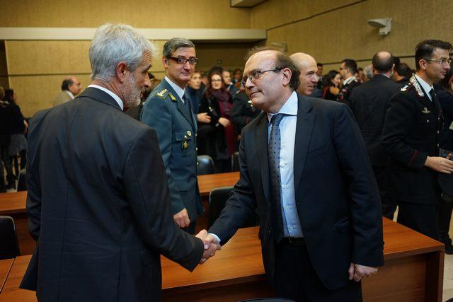 Insediamento per il nuovo presidente del Tribunale Francesco Vigorito