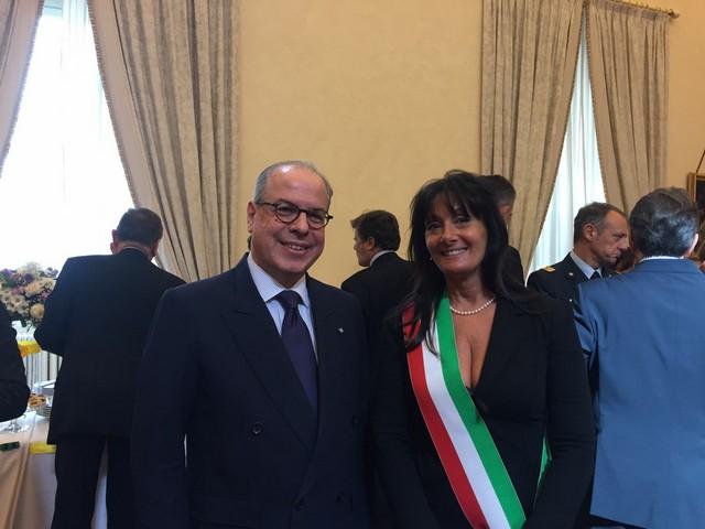 Delegazione del Comune di Tarquinia ospite all'ambasciata del Brasile