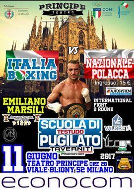 Emiliano Marsili torna sul ring