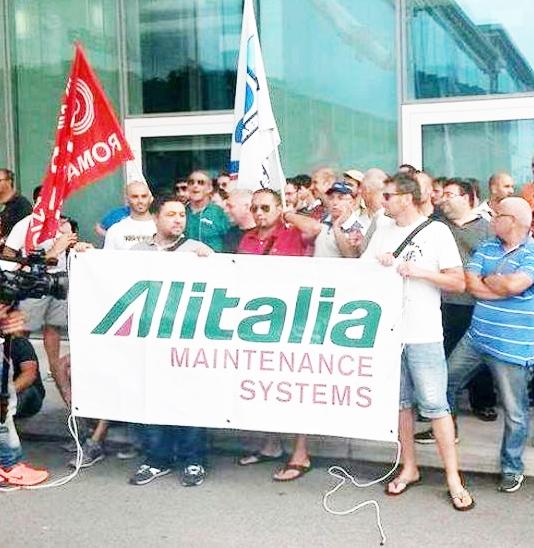 """""""Un tavolo urgente per Alitalia Maintenance Systems"""""""
