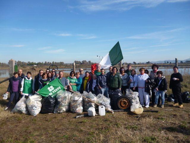 Fare Verde, oggi si pulisce la spiaggia delle Saline